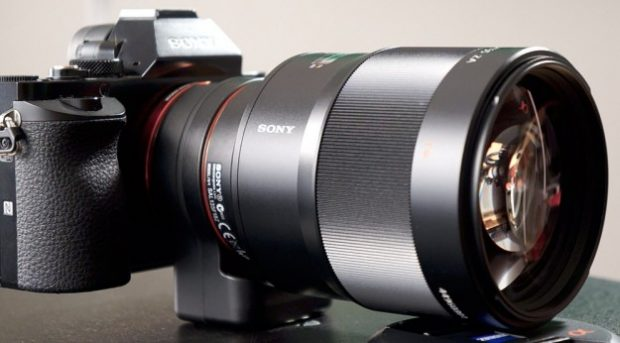 Sony A-mount 135mm f 1.8 lens
