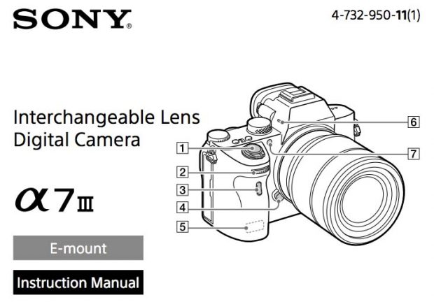 a7III-instruction Manual