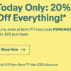 Today Only – 20% Off eBay Coupon for All Sony Gears !