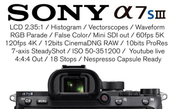 April Fool Specs of Sony a7S III by Filmmakers.Pro
