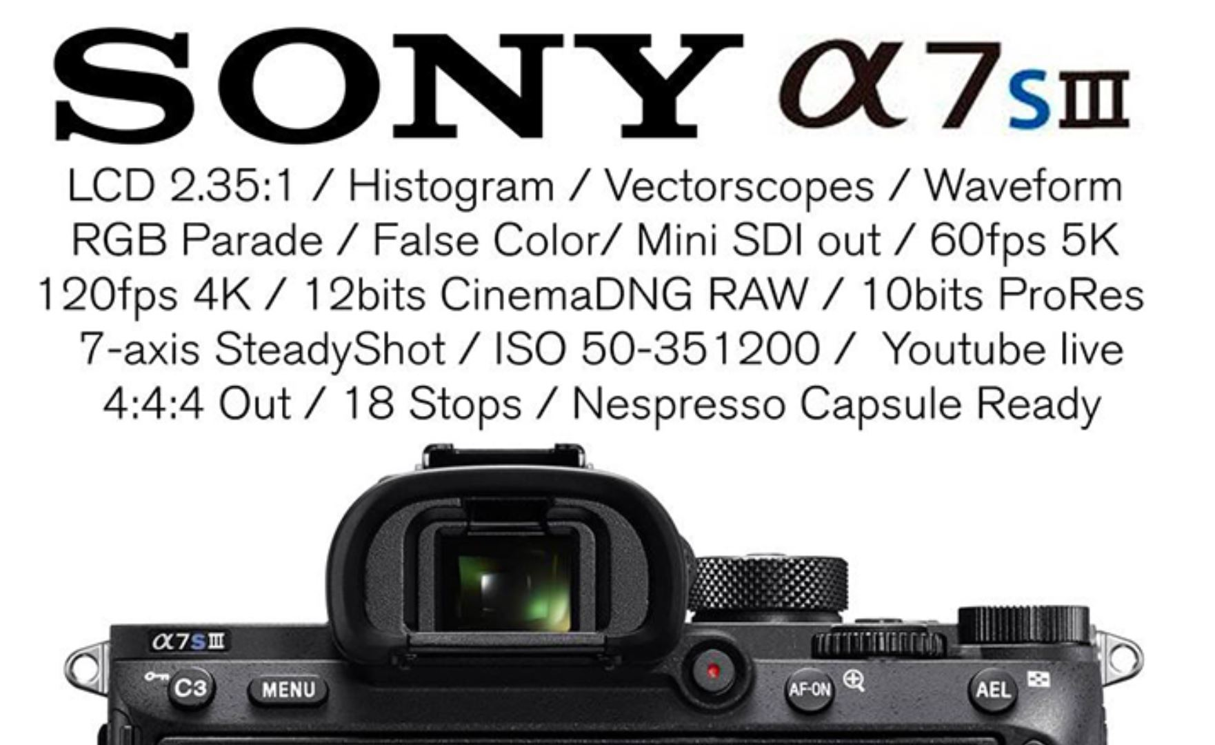 Sony a7S III Rumored to Have Stacked Image Sensor w