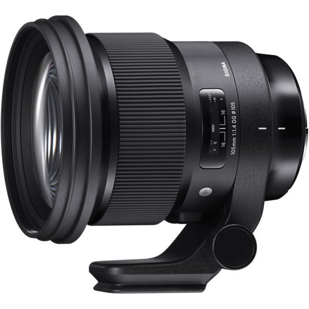 sigma 105mm f 1.4 dg hsm art lens