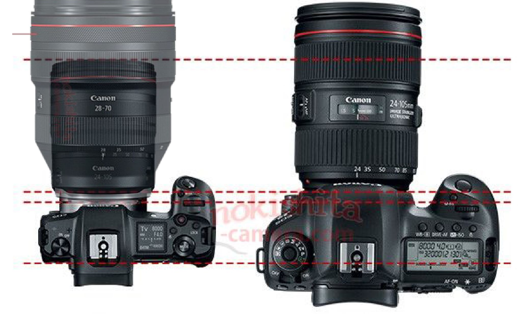 Competitor News First Images Amp Specs Of Canon Eos R And